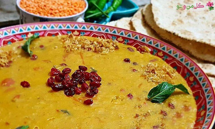 طرز تهیه سوپ عدس قرمز - سوپ دال عدس