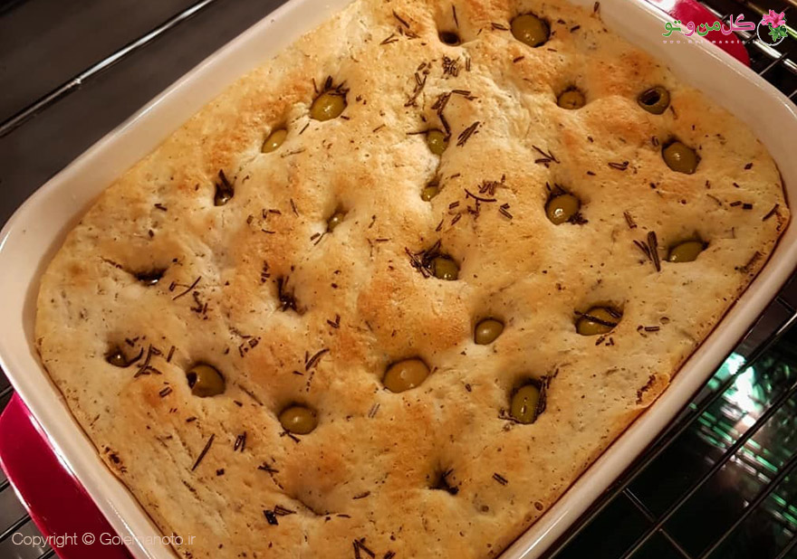 طرز تهیه نان رزماری و زیتون