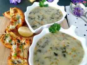 طرز تهیه سوپ گشنیز
