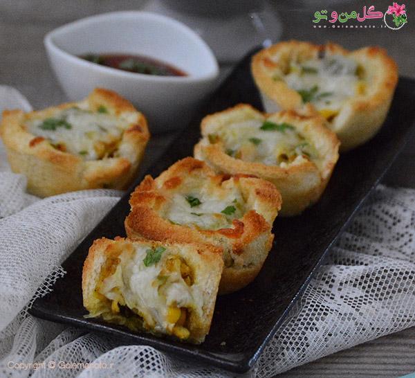 کاپ مرغ و پنیر