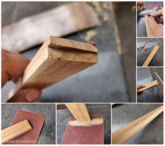 آماده سازی چوب