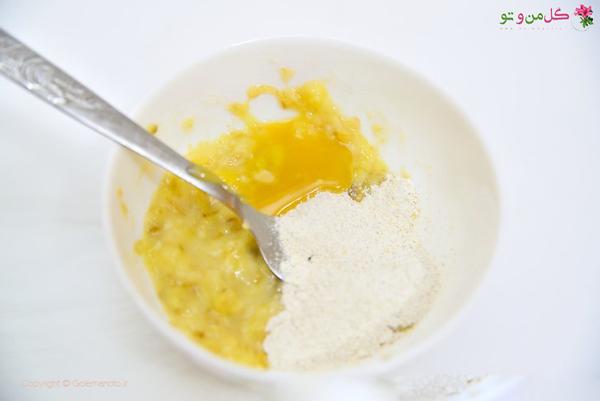 ماسک موز - اضافه کردن عسل