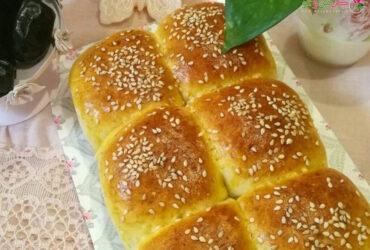 طرز تهیه نان شیر پفکی