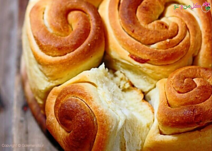 پخت نان پیچ پیچی