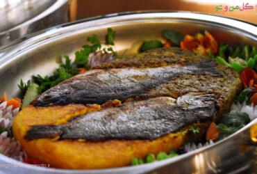 photo ۲۰۱۸ ۰۹ ۰۴ ۰۹ ۱۶ ۰۳ طرز تهیه ته چین دو رنگ ماهی فوق العاده خوشمزه