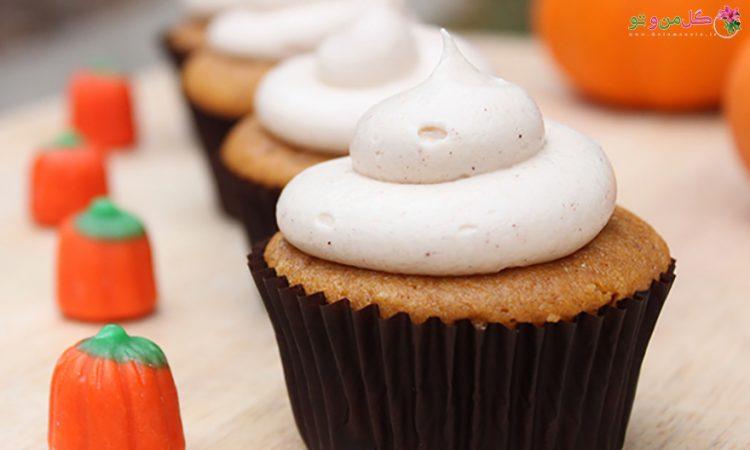 طرز تهیه کاپ کیک کدو حلوایی