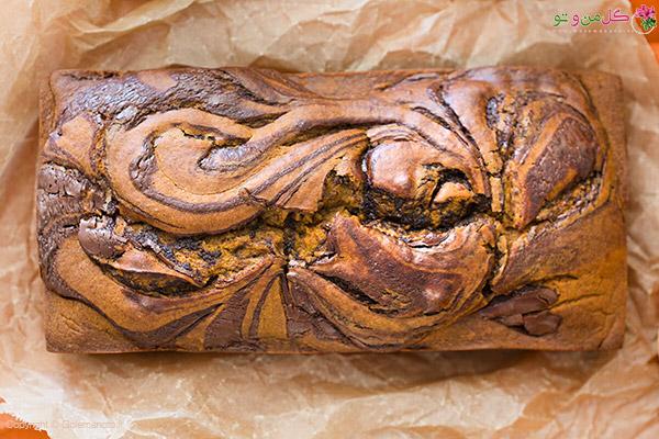 نان خیس کدو حلوایی