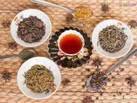درمان بیماری های شایع با چای