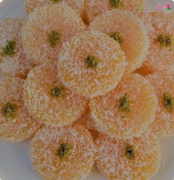 طرز تهیه لوکوم نارنگی