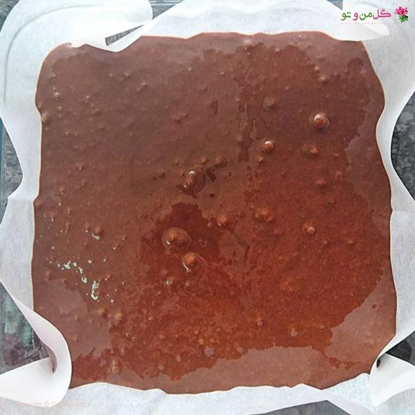 بروانی شکلاتی - قسمت شکلاتی