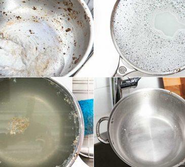 تمیز کردن وسایل آشپزی