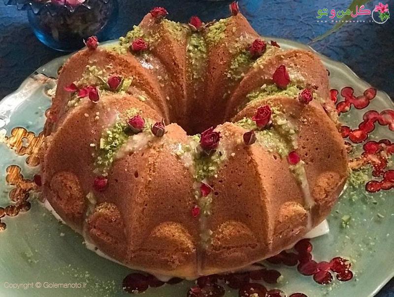 طرز تهیه کیک ایرانی