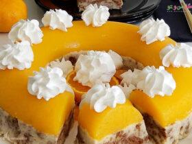 طرز تهیه ژله نارنگی با محلبی ایرمیک