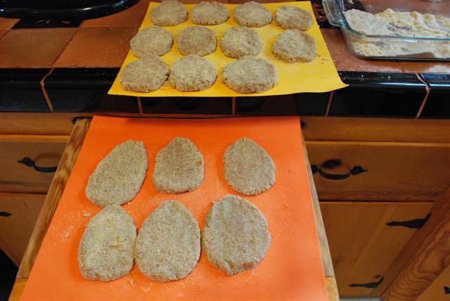اضافه کردن آرد سخاری به مواد