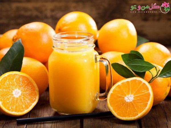 درمان بیماری ها با آب پرتقال