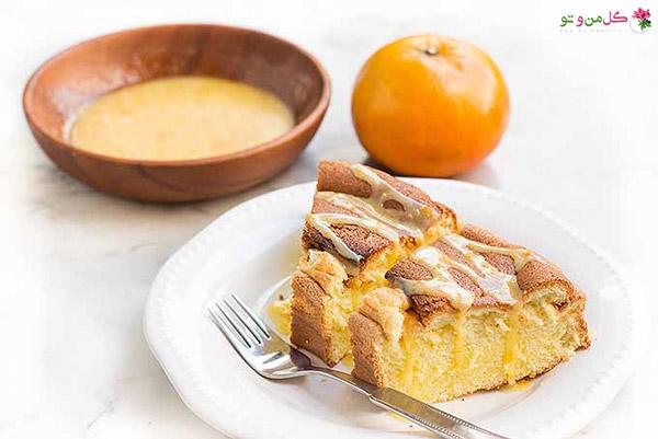 کیک نارنگی تابه ای