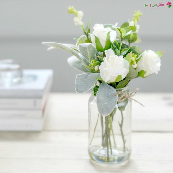 شاداب تر ماندن شاخه گل ها