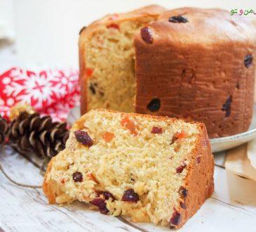 طرز تهیه نان پنه تون ایتالیایی - نان کریسمس