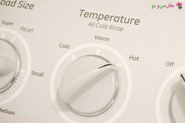 قرار دادن لباس شویی بر روی شستشوی داغ