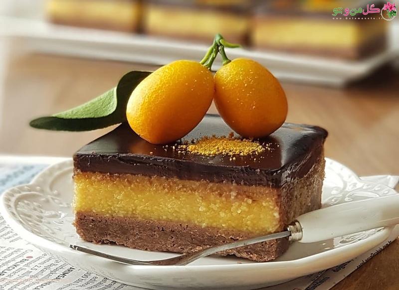 طرز تهیه دسر پرتقالی شکلاتی