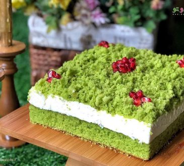 طرز تهیه چیز کیک اسفناج
