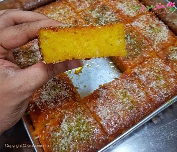 کیک شربتی خوشمزه