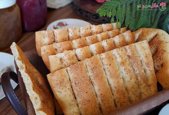 طرز تهیه نان بربری در فر