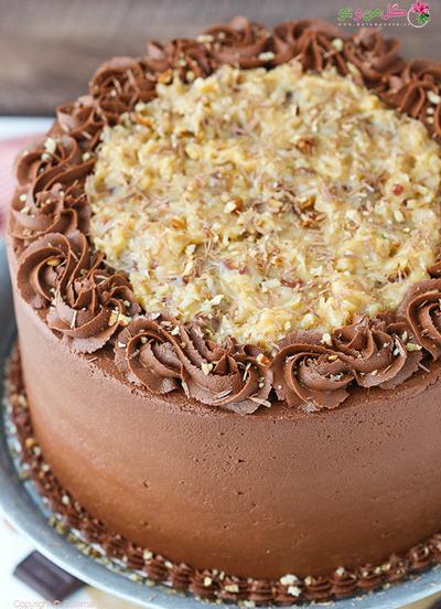 کیک شکلاتی معروف آلمانی دوم