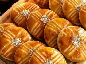 طرز تهیه نان اهری