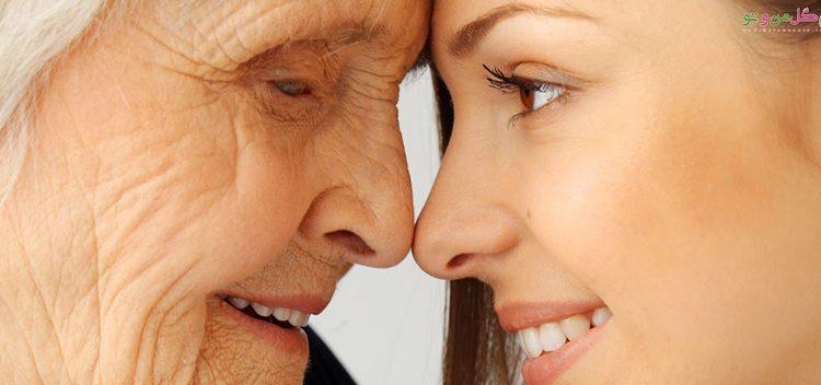 پوست چگونه پیر می شود؟