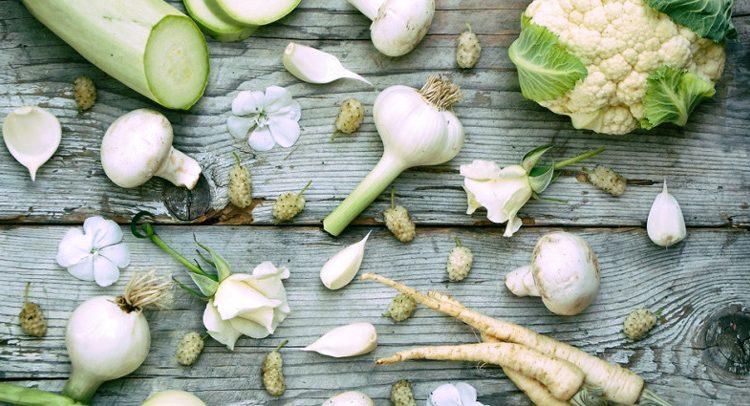 5 سبزی شگفت انگیز سفید رنگ
