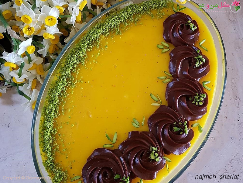 طرز تهیه تر حلوای شیرازی
