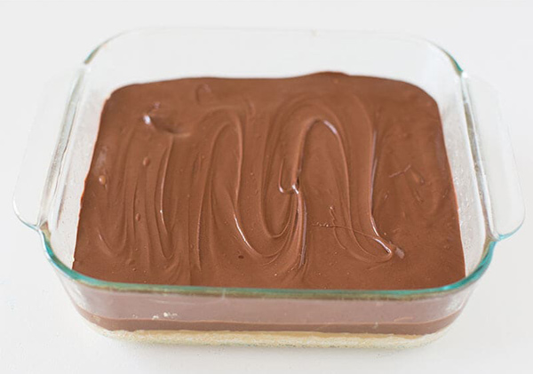 طرز تهیه اسلایس کارامل و شکلات تویکس