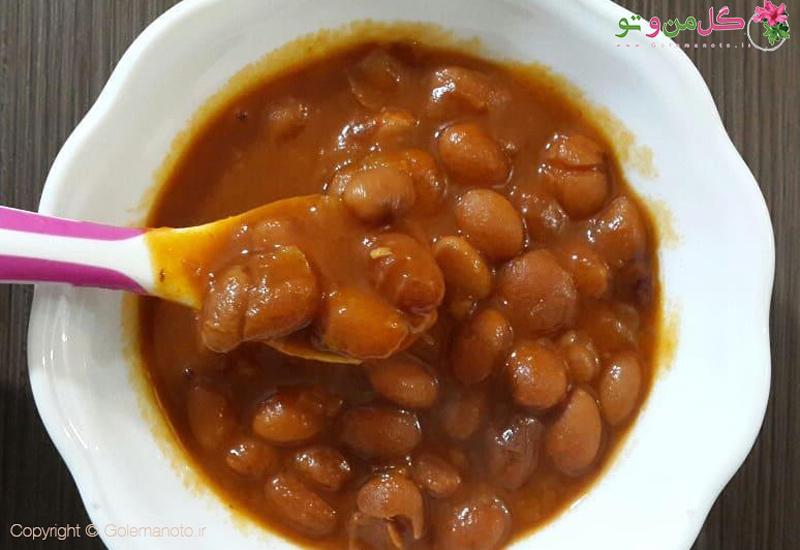 طرز تهیه خوراک لوبیا چیتی برای کودکان