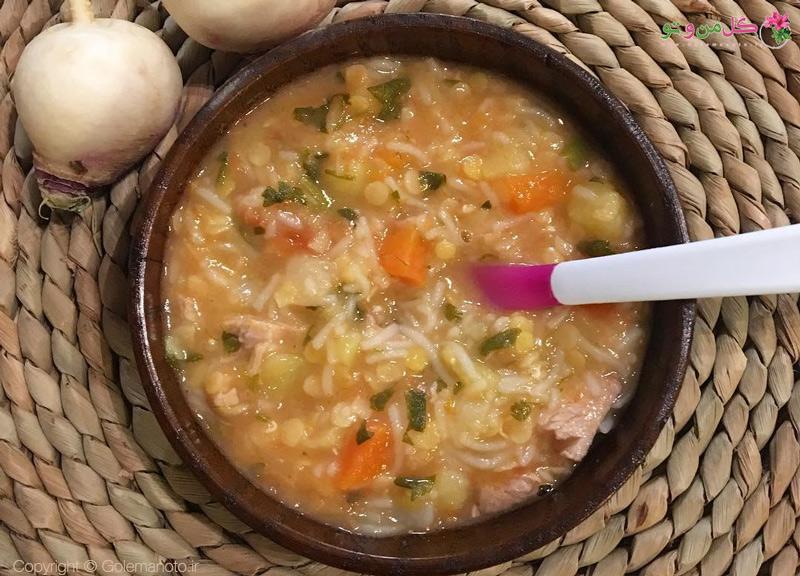 طرز تهیه سوپ سرماخوردگی کودکان