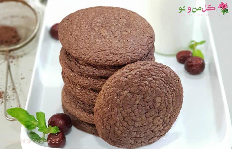طرز تهیه کوکی براونی شکلاتی