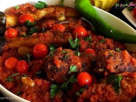 طرز تهیه تپسی کباب ترکیه