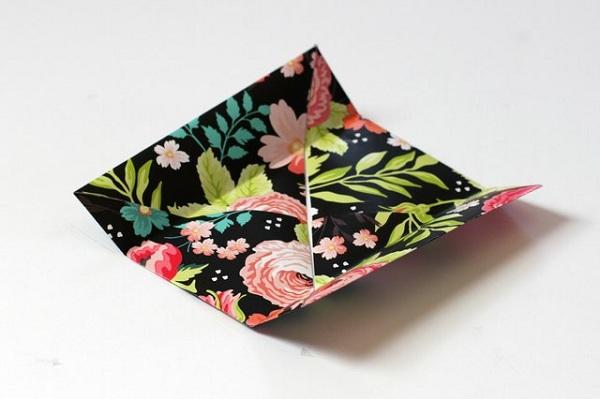 12 چگونه می توان یک جعبه کاغذی کوچک ساخت