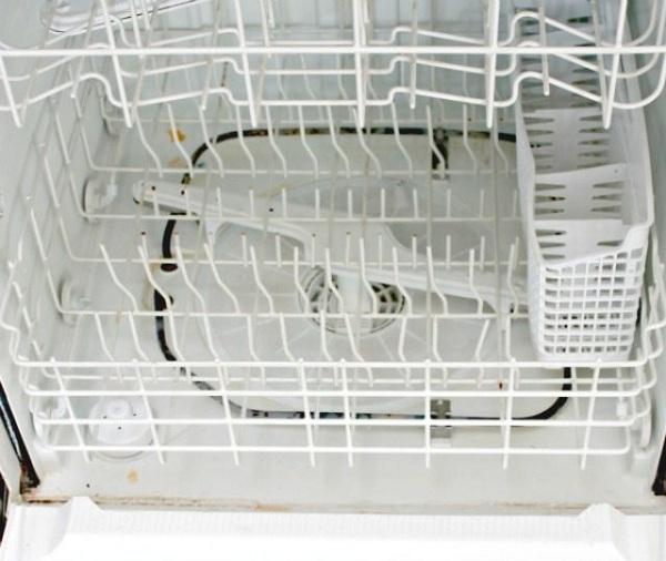 14 2 نحوه پاک کردن داخل ماشین ظرفشویی