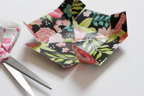16 چگونه می توان یک جعبه کاغذی کوچک ساخت