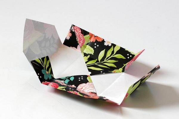 17 چگونه می توان یک جعبه کاغذی کوچک ساخت
