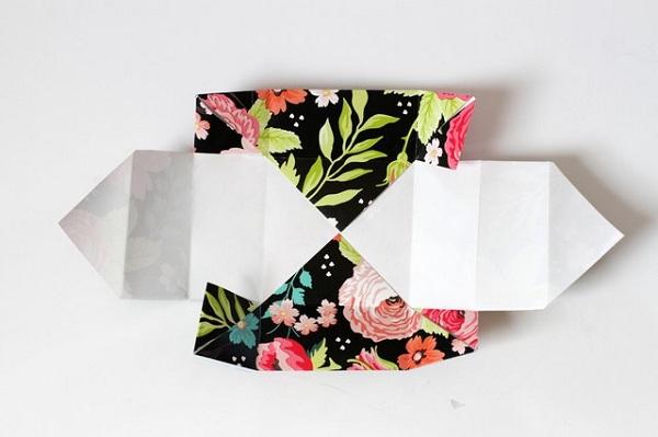 18 چگونه می توان یک جعبه کاغذی کوچک ساخت