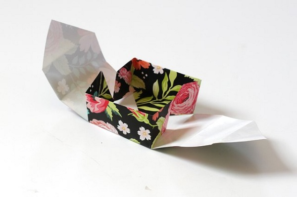 19 چگونه می توان یک جعبه کاغذی کوچک ساخت