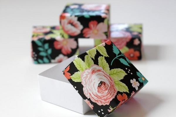2 1 چگونه می توان یک جعبه کاغذی کوچک ساخت