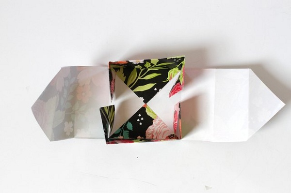 20 چگونه می توان یک جعبه کاغذی کوچک ساخت