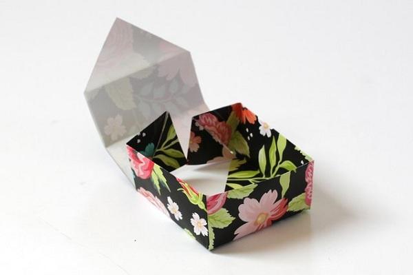 21 9 چگونه می توان یک جعبه کاغذی کوچک ساخت