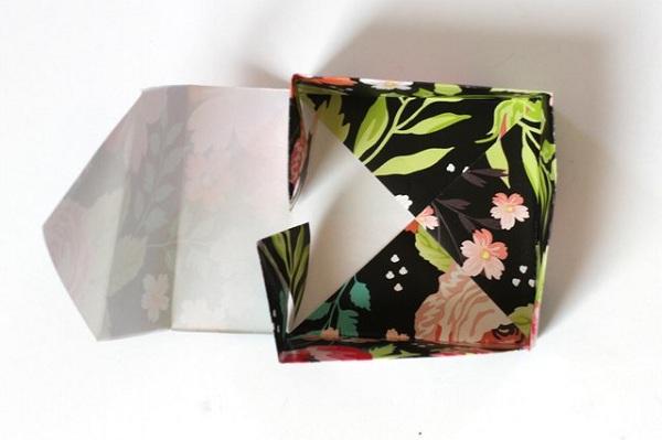 22 8 چگونه می توان یک جعبه کاغذی کوچک ساخت