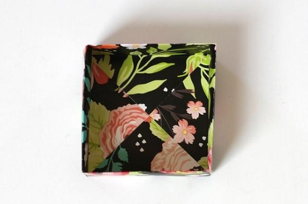 23 5 چگونه می توان یک جعبه کاغذی کوچک ساخت