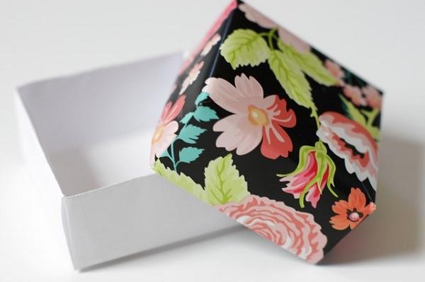 24 5 چگونه می توان یک جعبه کاغذی کوچک ساخت