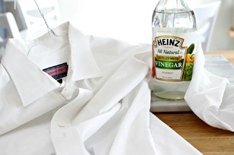 3 3 چند راه برای شستن لباس ها با استفاده از سرکه! (قسمت اول)
